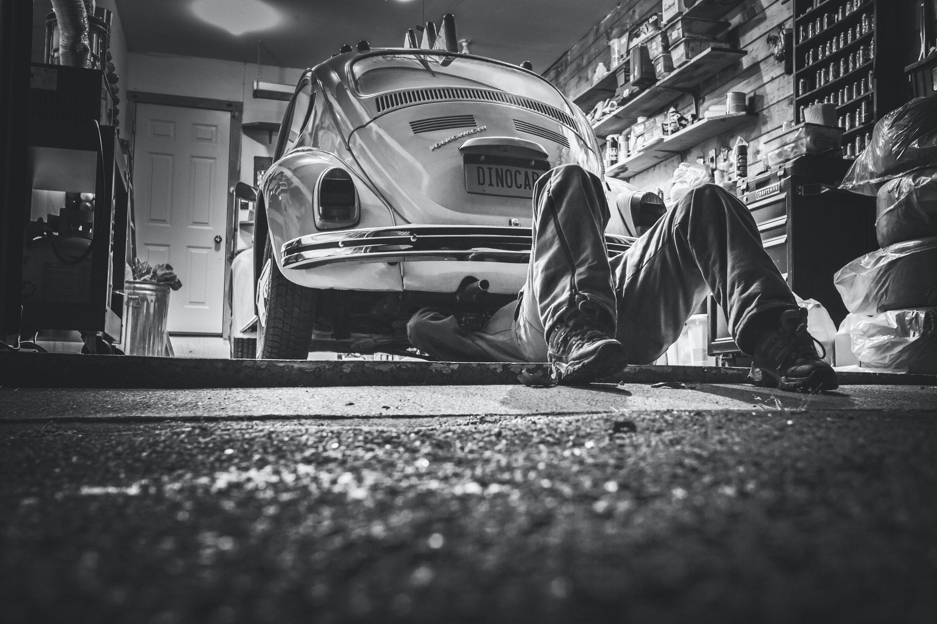 Onderhoudsbeurt auto